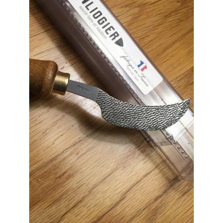 Râpe couteau de bottier